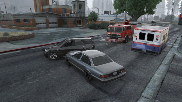 2 Vehicle 10-50 in Paleto Bay